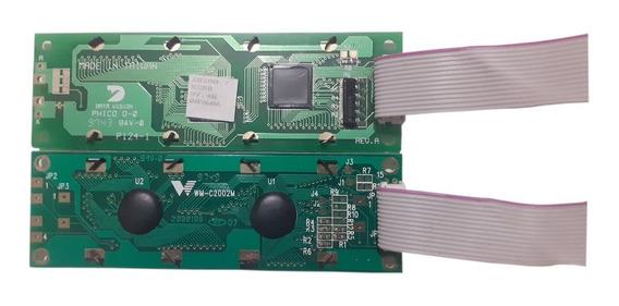 Kit 10 Un Lcd Wm-c2002m , Medida Placa 11,5 Cm X 3,5 Cm
