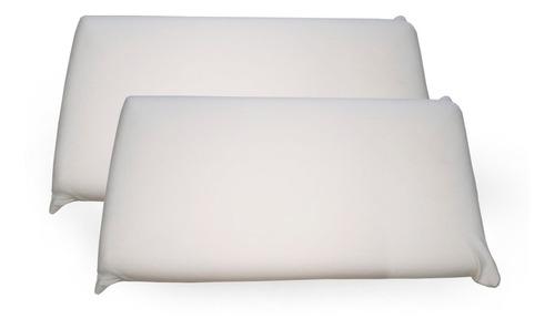 Almohada Viscoelastica X2 Un. Nativa Touch Compacta 70x12x35