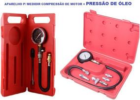 Testar Pressão De Óleo + Compressão De Motores Álcool & Gaso