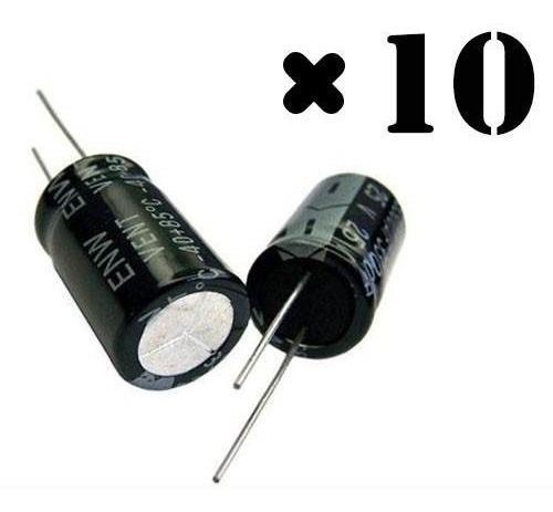 Capacitor De Corneta 22x250 Pacote Com 10 Peças