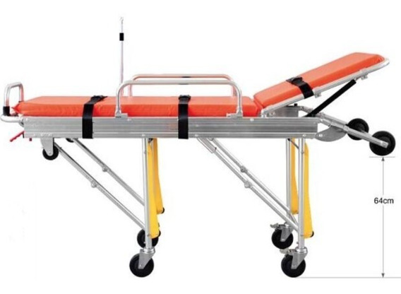 Camilla Para Ambulancia De Golpe Carro Camilla