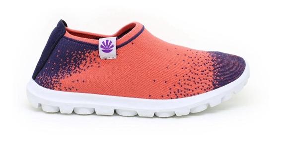 Zapatillas Kioshi Nairon Kioknit Teens Azul Coral