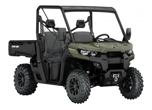 Can-am Defender Hd 8 2021 Dps Gris Canam Utv Utilitario