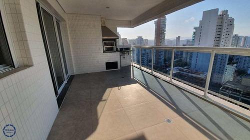 Apartamento Com 3 Dorms, Boqueirão, Santos - R$ 1.6 Mi, Cod: 16239 - V16239