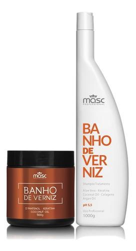 Kit Nutrição Profissional Banho Verniz Masc + Brinde