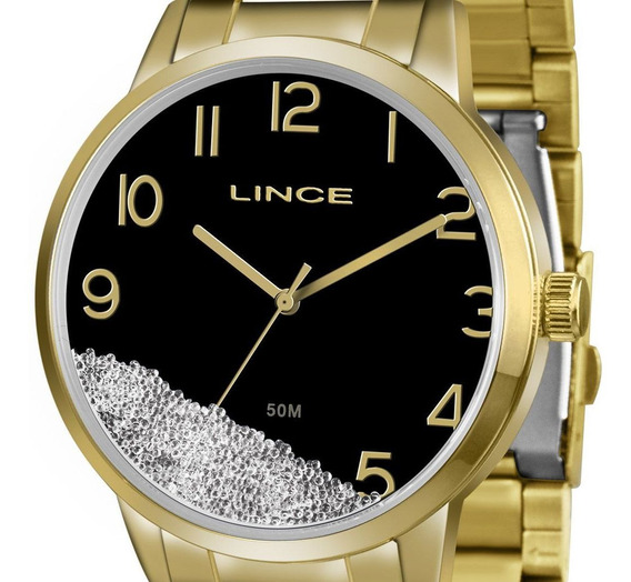 Relogio Orient Lince Feminino Lrg4379l P2kx Dourado