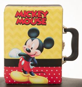 Album De Fotos C/ Estojo Mickey 15x21 Para 120 Fotos