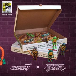 Teenage Mutant Ninja Turtles Pizza Power Tmnt Exclusivo Sdcc