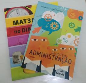 Livros: Matemática No Dia A Dia E Básico Em Administração