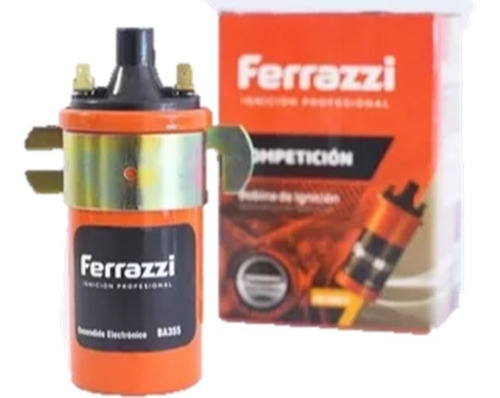 Imagen 1 de 5 de Bobina Ferrazzi Competicion 40.000 Volts. Encendido Electrónico