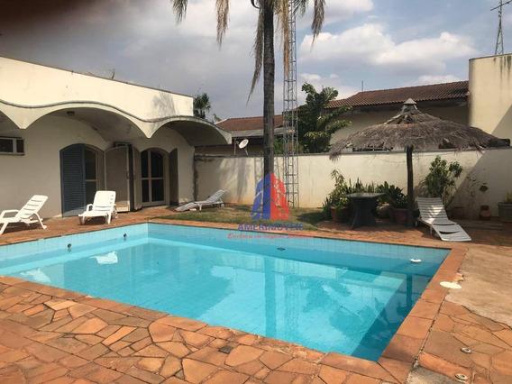 Casa Com 3 Dormitórios À Venda, 250 M² Por R$ 1.800.000 - Jardim Colina - Americana/sp - Ca1160