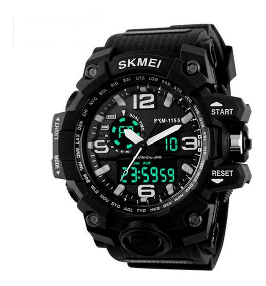 Relógio Skmei 1155 Original Militar Prova D`água Digital Analogico