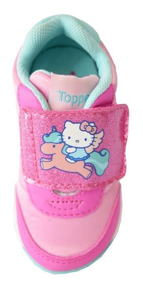 Zapatillas Topper Run Retro Bebe Kitty Iv Unicornio