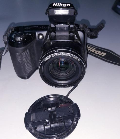 Câmera Nikon Coolpix L 110 Semi Profissional