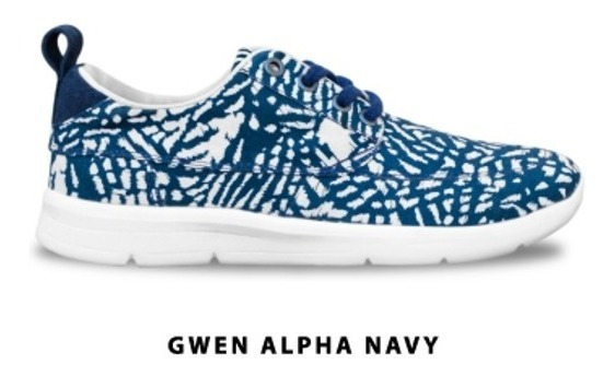 Zapatillas Rusty Gwen Alpha Navy 02300 Caz