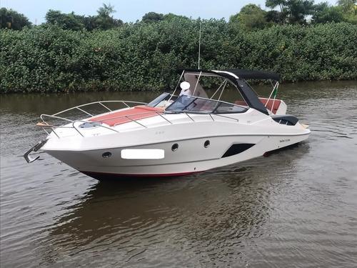 Lancha Ventura 350 C/ 2 X Mercuiser 250 Hp Gasolina Ano 2020