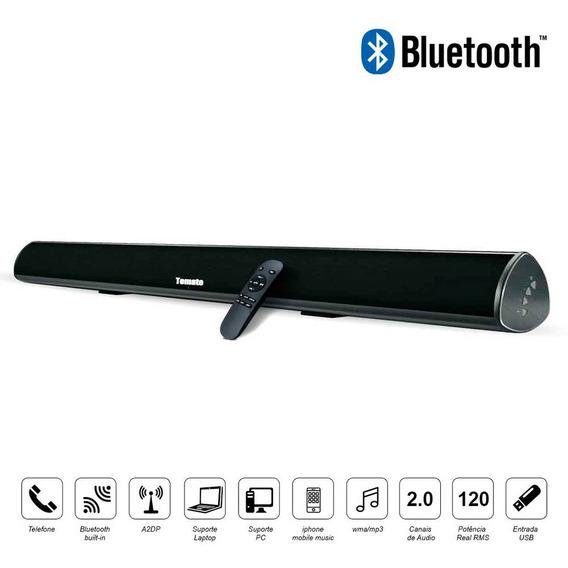 Caixa De Som Sound Bar C/ 120w Smart Tv Pc Mt2016 Bluetooth