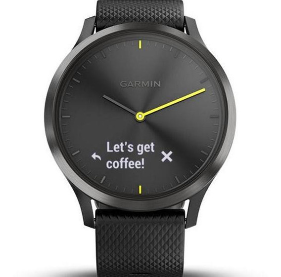 Smartwatch Touch Garmin Vivomove Hr Sport Preto