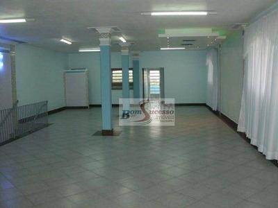 Salão Comercial Para Locação, Cangaíba, São Paulo. - Sl0091