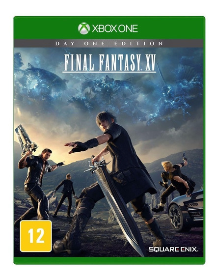 Jogo Final Fantasy Xv Day One Xbox One Midia Fisica