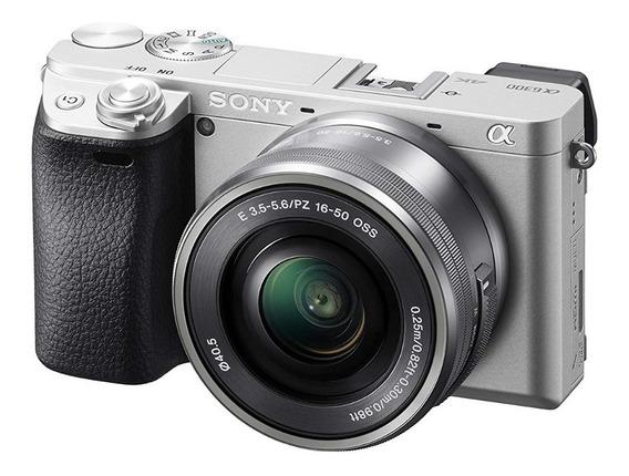 Sony Alpha A6300 + Lente 16-50mm + Protetor Metálico