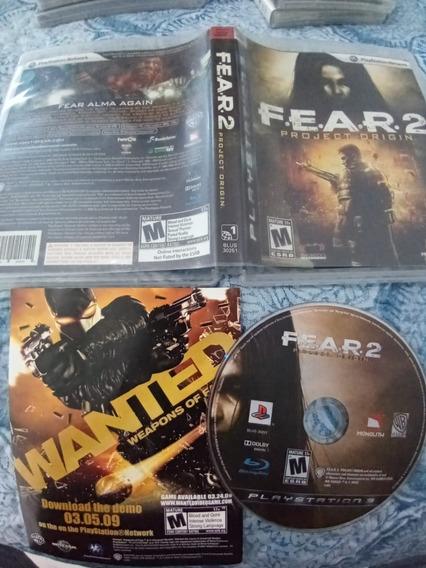 Fear 2 Usado Play3 Lo15#