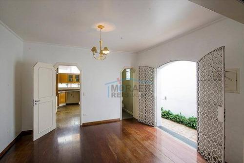 Sobrado Com 3 Dormitórios À Venda, 230 M² Por R$ 2.000.000,00 - Moema - São Paulo/sp - So2502