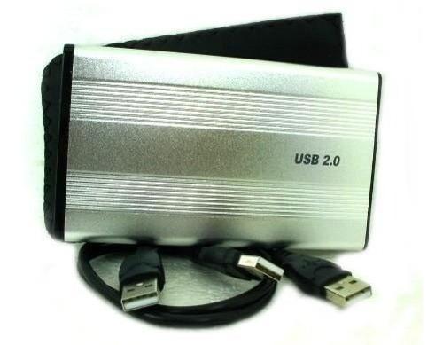 Imagen 1 de 2 de Disco Duro Externo 320 Gb Usb Para Respaldos