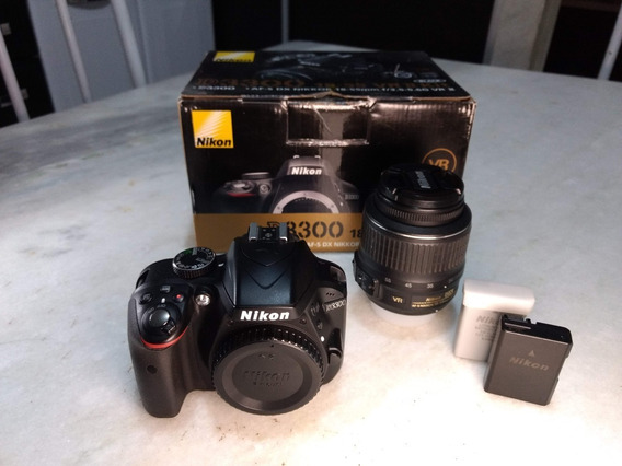 Nikon D3300 + Lente Do Kit + Bateria Extra