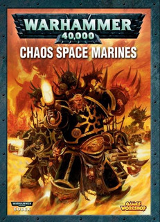 Warhammer 40k Codex Marines Espaciales Del Caos De 6 Ed