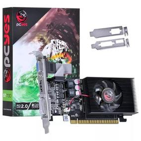 Placa De Vídeo Pcyes Geforce Gt 730 2gb Ddr3 Low Profile 730