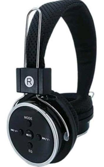 Fone Bluetooth, Fm, Cartão Memória E P2