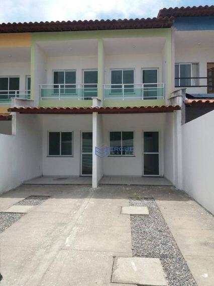 Casa Com 2 Dormitórios À Venda, 92 M² - Passaré - Fortaleza/ce - Ca0497