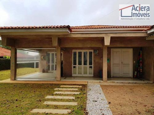 Imagem 1 de 30 de Casa Térrea Com 03 Suítes - Jardim Passargada - Granja Viana, Cotia! - Ca2679