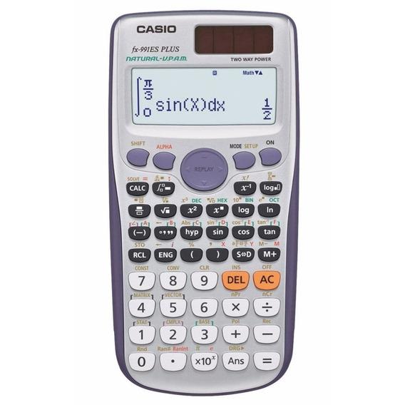 Calculadora Científica Casio Fx991es Plus