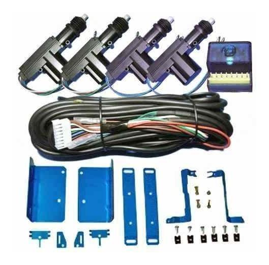 Trava Eletrica Palio Siena Fiat 4 Portas Suportes De Fixação