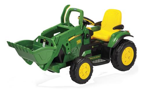 Imagem 1 de 8 de Mini Trator Eletrico Até 40 Kg Com Pá Bateria John Deere Peg