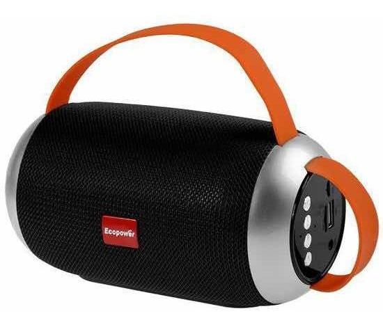 Caixa De Som Ecopower Original 10watts Bluetooth/usb - Preto
