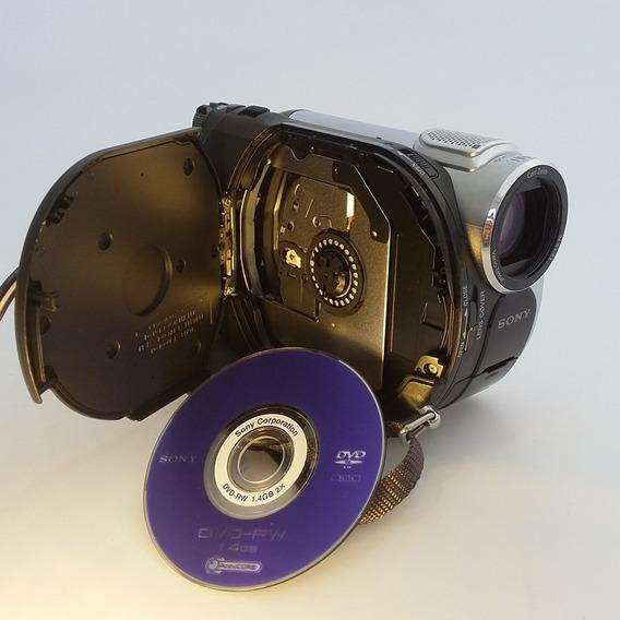 Filmadora Sony Handycam Dcr-dvd108 Com Carregador De Bateria