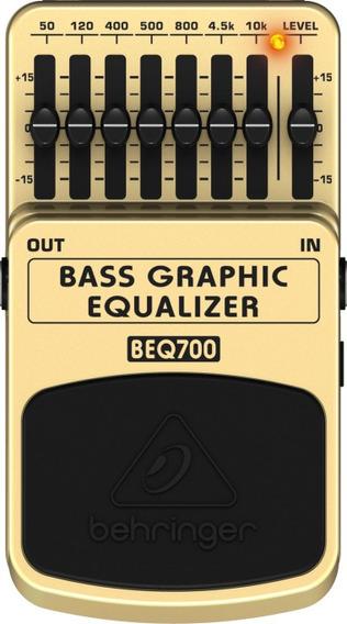 Pedal Behringer Beq700 Equalizador Para Baixo