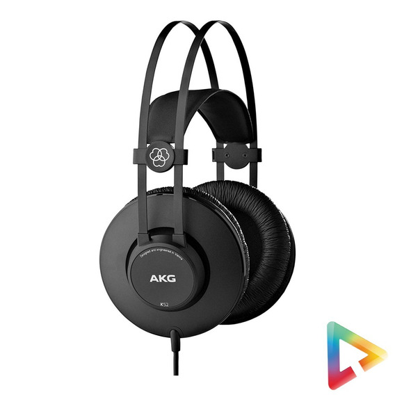 Fone Ouvido Akg K52 Over Ear Headphone Original Hl Infomusic