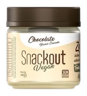 Doce Snackout Chocolate Branco 180g - Vegano