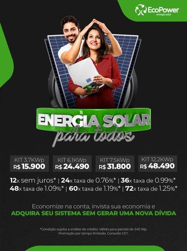 Energia Solar Fotovoltaica - Ecopower Paulistana