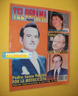 Pedro Infante Revista Telegrama 1996 Cine Mexicano