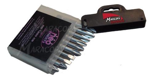 Juego De 10 Puntas 50mm Neo Taladro Atornillador Industrial