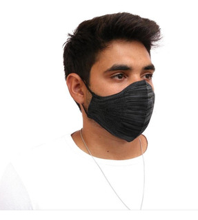 Máscara De Proteção Lavável Academia Fit 3d C/filtro Fitness