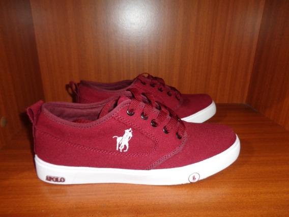 Zapatos Vinotinto Marca Apolo