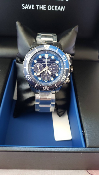 Relogio Seiko Prospex Solar Diver Ssc675p1 Save The Ocean
