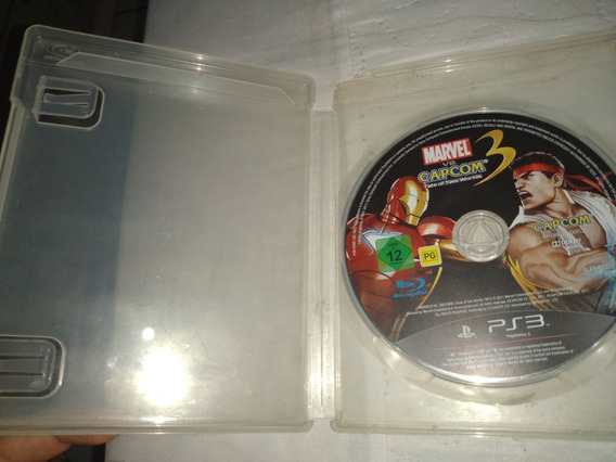 Marvel Vs Capcom 3 Fate Two Worlds Ps3 Mídia Física