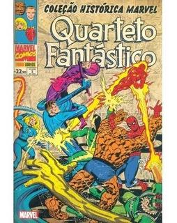 Hq - Coleção Histórica Marvel - Quarteto Fantástico #03